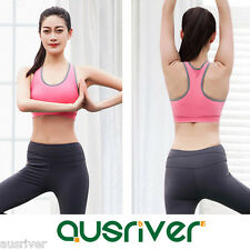 Brand New Activewear Sports Bras Padded Yoga Running Exercise Tops Seamless