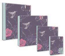 "Purple Vintage Flowers & Birds Photo Albums 4 Styles 6x4"", 7x5"" or Self Adhesive"