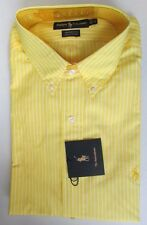 NWT Ralph Lauren Dress Shirt YARMOUTH Yellow Sz 17 17 1/2 32/33 ** 36/37