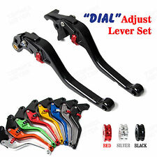 CNC Dial Brake Clutch Lever Sets for BMW F800R 09-15 F650GS 09-12 F700GS 13-15