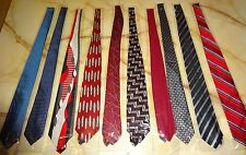 Brand New Mixed Brand Lot Of 10 Men's Ties - Lot NN