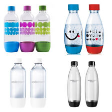 SodaStream Carbonating Bottles 1/0.5 L Liter EXPIRE 3 YEARS! CHOOSE YOUR BOTTLES