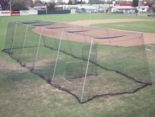Wheelhouse Baseball Batting Cage Net And Frame Kit Package With L Screen