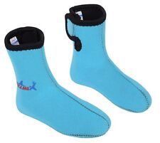 New Kids Child 3mm Wetsuit Socks Scuba Diving Snorkeling Booties Foot Protector
