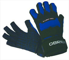 O'Brien X GRIP PRO 3/4 Kevlar Waterski Gloves, S or M, Blue. 42110