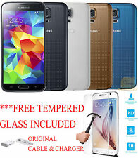 SAMSUNG GALAXY S5 16GB SMARTPHONE TMOBILE GSM UNLOCKED G900T ANDROID 4G LTE (B)