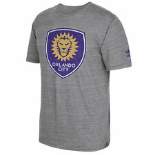 adidas Orlando City SC Originals Vintage Tri-Blend T-Shirt (Heather Gray)
