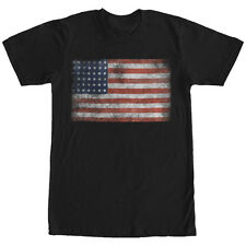 Lost Gods USA Flag Mens Graphic T Shirt