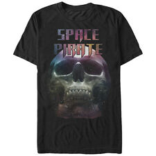 Lost Gods Space Pirate Skull Mens Graphic T Shirt