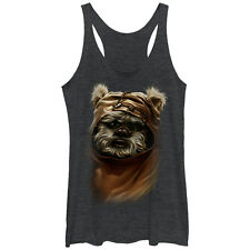 Star Wars Wicket Ewok Womens Graphic Racerback Tank