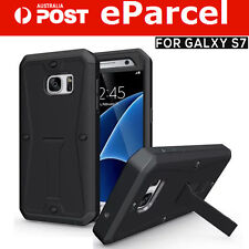 SHOCKPROOF HEAVY DUTY FULL BODY RUGGED HARD CASE w/Stand for Samsung Galaxy S7