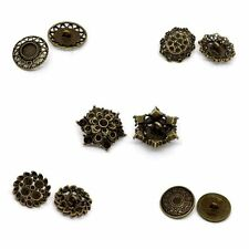 20 PCs Hot  Sewing Buttons Bronze Tone M0898