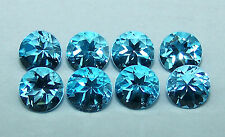 Masterpiece Calibrated 5 mm Round Cut Swiss Blue Topaz 100 % Natural, Loose Gems