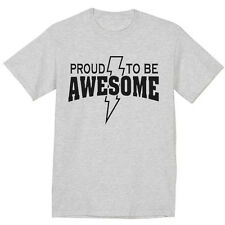 funny saying t-shirt proud to be awesome design tee tshirt