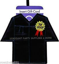 Grad Gown Graduation Gift Card Holder 1pc