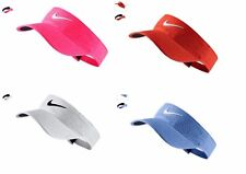 New Nike Womens Tour Tech Swoosh Visor Perforated Lt Assorted Colors Adjustable