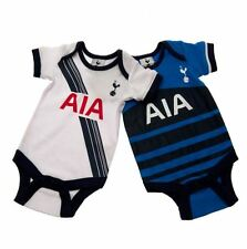Tottenham Hotspur FC 2 Pack Bodysuit Infants Baby Clothes Soccer Football EPL