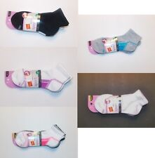 Hanes Womens Ankle Socks 3 Pack Various Colors Sizes 5-9 and 8-12 NIP