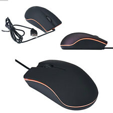 1200DPI Soft Gold curve Optical USB Wired Game Mouse Mice For PC Laptop Computer
