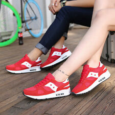 Men's Women Sport Running Hiking Patchwork Lace-Up Suede Athletic Unisex Shoes