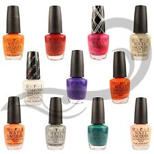 OPI Nail Lacquer Varnish Blue Pink Red Cream & Peach Long Lasting Nail Polish