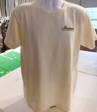 Genuine Indian Motorcycle Short Sleeved Cream Colored Scout Legendary Tee USA