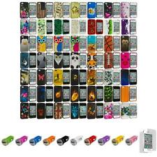 For iPhone 4 4S Design Hard Design Snap-On Cover Case+Car Charger+LCD