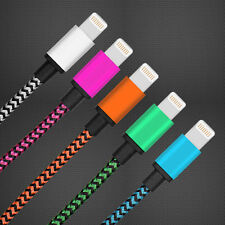 3FT Braided USB Sync Data Charging Charger Cable Cord for iPhone 6s 5 i pad mini