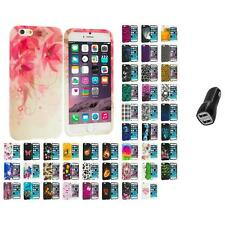 For Apple iPhone 6 PLUS 5.5 TPU Design Silicone Case Cover 2.1A Charger