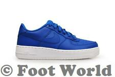 Juniors Nike Air Force 1 (GS) - 596728 429 - Game Royal White Trainers - BNIB NO