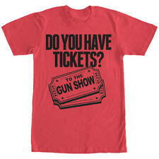 CHIN UP Tickets to the Gun Show Mens Graphic T Shirt
