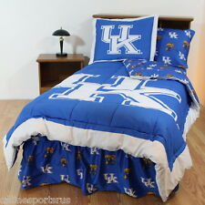 Kentucky Wildcats Comforter Sham & Sheet Set Twin Full Queen King Size CC