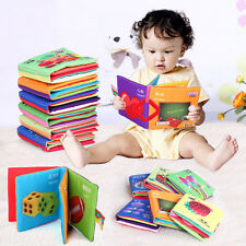 1xKid Baby Intelligence development Cloth Bed Cognize Book Educational Toy Hot