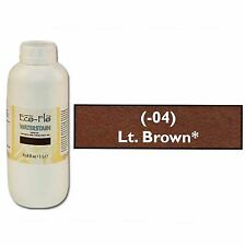Eco-Flo Professional Waterstain Light Brown 33.8 oz. (1L) 2801-04