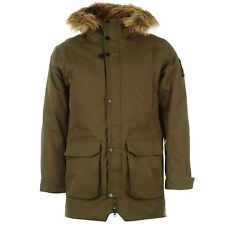 Helly Hansen Norse Waterproof Parka Jacket Mens Olive Raincoat Coat Overcoat