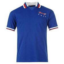Carlisle United FC 1980 Home Jersey Mens Score Draw Blue Football Soccer Club