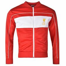 Liverpool FC 1982 Track Jacket Mens Score Draw Red/White EPL Football Soccer