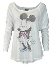 Junk Food Minnie Mouse Pose Women's Long Sleeve Top