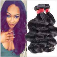 3 Bundles Virgin Brazilian Human Hair Extensions Body Wave Hair Weave weft 150G