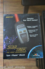 1997 Star Trek The Next Generation Type 1 Phaser Mouse,  In Factory Sealed Box!