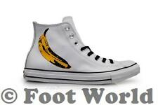 Unisex Converse Chuck Taylor CT Andy Warhol Hi - 149535C - White Black Trainers