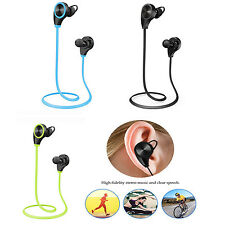 New Wireless Bluetooth Sports Earphones Stereo Headsets Music Running Earbuds
