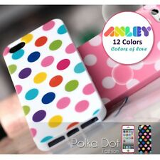 iPhone 6s & 6s Plus Polka Dots Case, ANLEY  Jelly Silicone Back Cover Cute Case