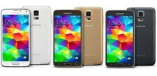 SAMSUNG GALAXY S5 SM-G900T T-MOBILE UNLOCKED 16GB SMARTPHONE BLACK WHITE GOLD