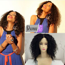 """12""""-22"""" Loose Curly Wigs 100% Indian Remy Human Hair Lace Front /Full Lace Wig"""