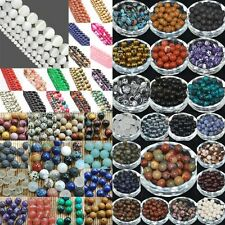FREE SHIP 100Pcs Natural Gemstone Round Spacer Loose Beads 4MM 6MM 8MM 10MM