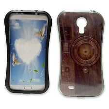 WOODEN CAMERA PRINT DESIGN GEL HARD CASE COVER FOR SAMSUNG GALAXY S4 i9500