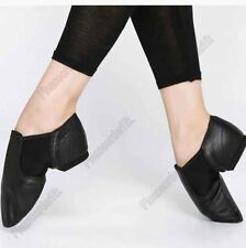 New Womens Mens Kids Jazz Ballet Dance Shoes Genuine Leather Split Sole