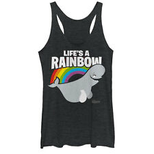 Finding Dory Bailey Life is a Rainbow Womens Graphic Racerback Tank