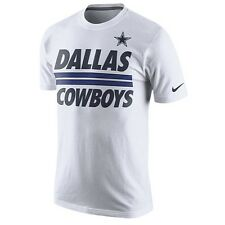 Dallas Cowboys Team Stripe White TShirt